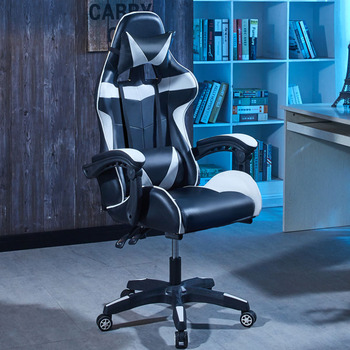 saisen gaming chair E-sports chair, computer chair,  home office chair white and red