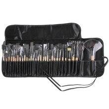 Professional 32pcs Makeup Brushes Set Concealer Liquid Blusher Powder Foundation Eye Shadow Eye liner Brush Cosmetic Tool bag