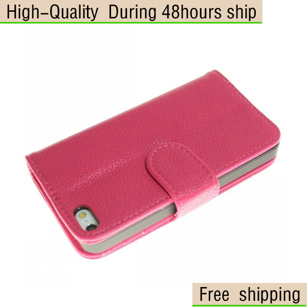 New Multi Purpose Envelope Wallet Leather Case Cover for Apple iPhone 5 5G 5th Free Shipping UPS DHL EMS HKPAM