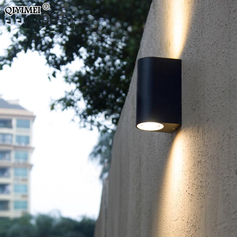 Led-innenwandleuchten Intellektuell Led Outdoor Beleuchtung Wand Licht Lampe Außen Außerhalb Veranda Licht Wasserdichte Ip65 Garten Wandleuchter Leuchten