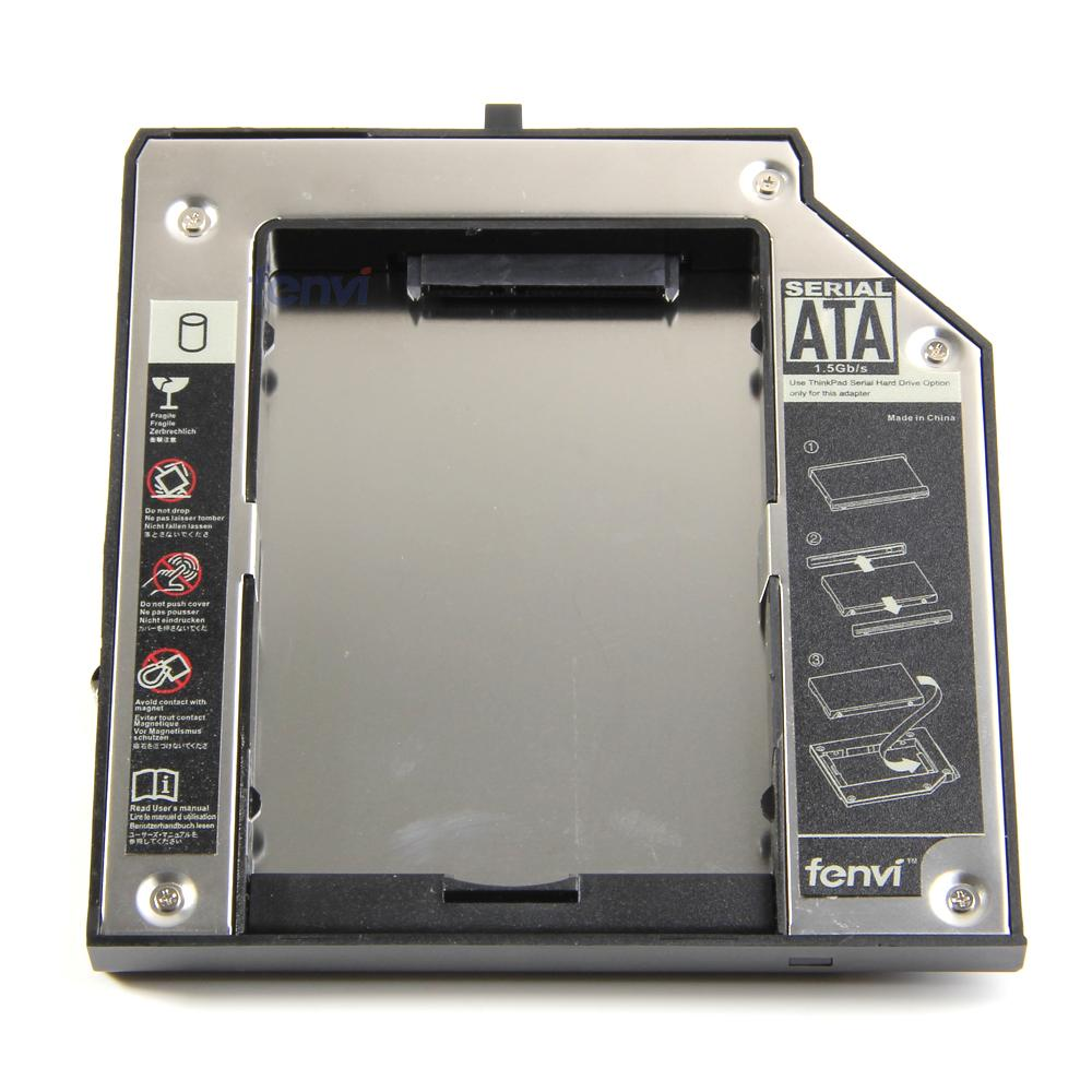 Fenvi Aluminum Plastic New 2nd Hard Disk Drive HDD Caddy for IBM T420 T430 W520 W530