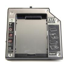 Fenvi Aluminio Plástico Nueva segunda Unidad de Disco Duro HDD Caddy para IBM W520 T420 T430 W530 T530 T520 laptop Optical Recinto bahía