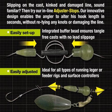 Carp fishing adjuster stop running leger method feeder beads feeder rigs carp caorse fishing teriminal tackle fishing line stop