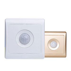 Image 2 - Bcsongben New Arrivals 220v 86 wall smart home led Infrared control energy saving delay  Lights Lamps motion sensor light switch