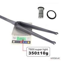 Трековые велосипеды Streerer Tube 1-1/8 до 1-1/2 fixed gear Карбон Fork Space 9*100 мм Road Carbon Frok