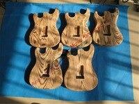 Của trung quốc đàn guitar Sỉ tùy chỉnh cửa hàng guitar điện ST cơ thể của tro EMS miễn phí vận chuyển