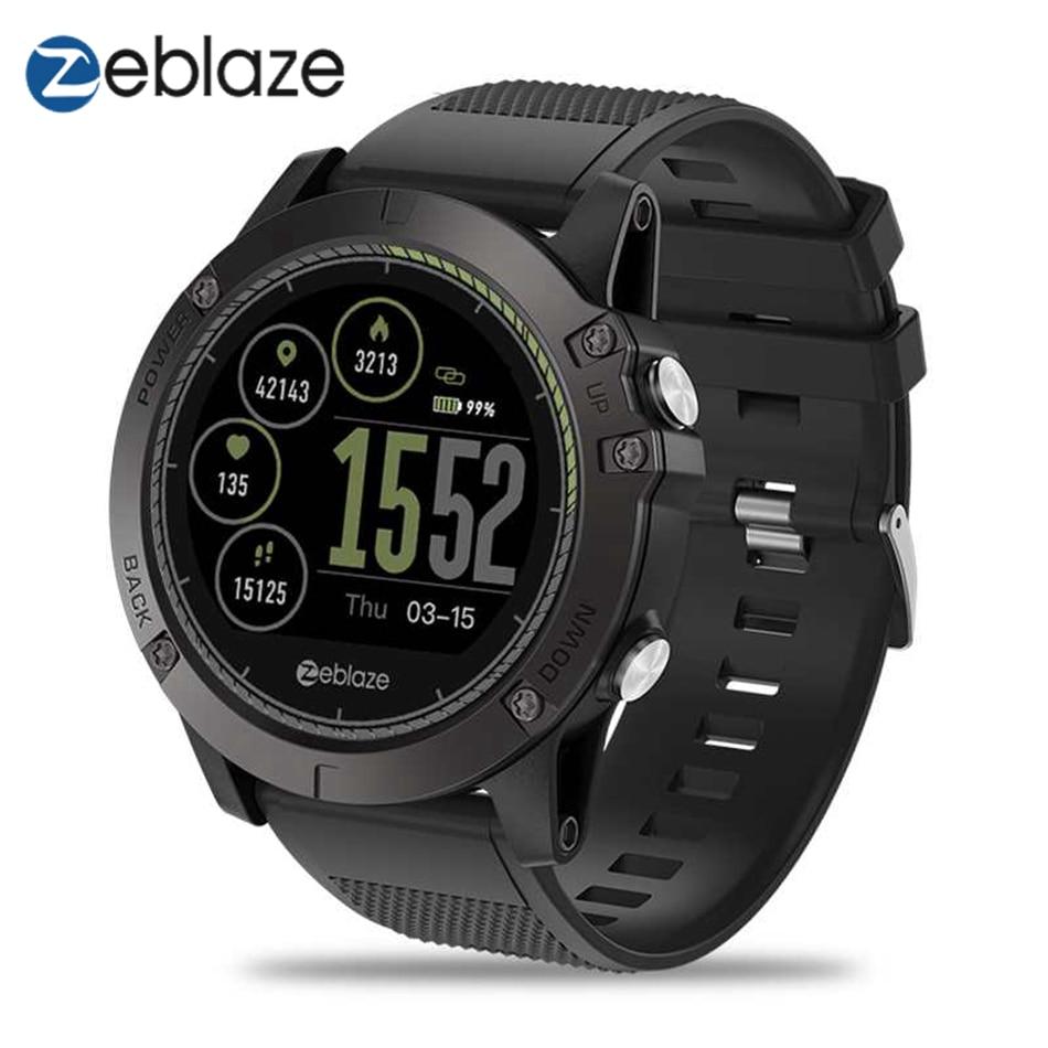 Zeblaze VIBE 3 HR Smartwatch IP67 Waterproof Wearable Device Heart Rate Monitor IPS Color Display Sport Smart Watch Men g6 tactical smartwatch