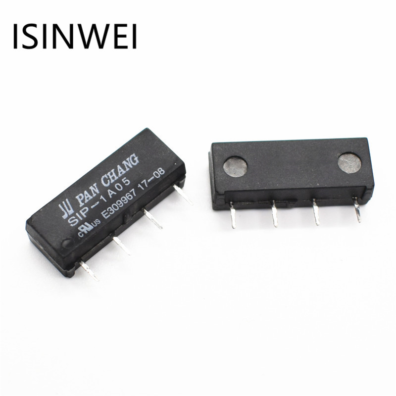 1 Pcs SIP-1A05 DIP4 reed relay 5V Voltage