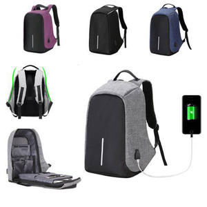 7e42a9c39e Outdoor Men Anti-theft Bag with External USB Charge Crossbody Bag