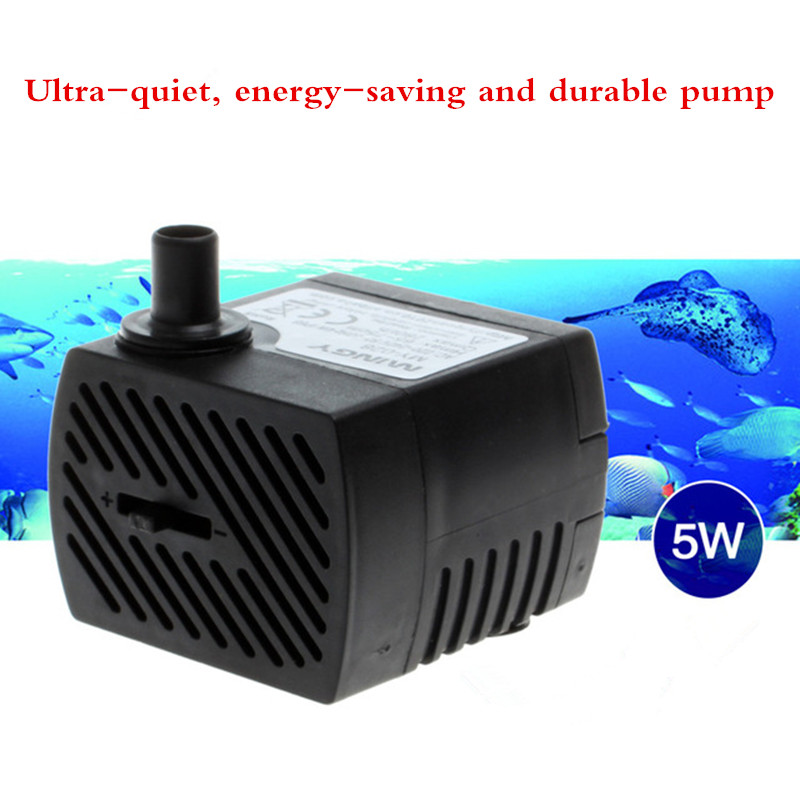 MY-355 Air Conditioning Fan Pumps Water Pump Safety Static Protection 5W Lift  0.8m