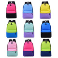 2016 Hot Venda Nylon Mulheres mochila de Grande Capacidade Sacos De Escola Para Adolescentes Mochilas Para Meninas Mochila Escolar de 22 Cores