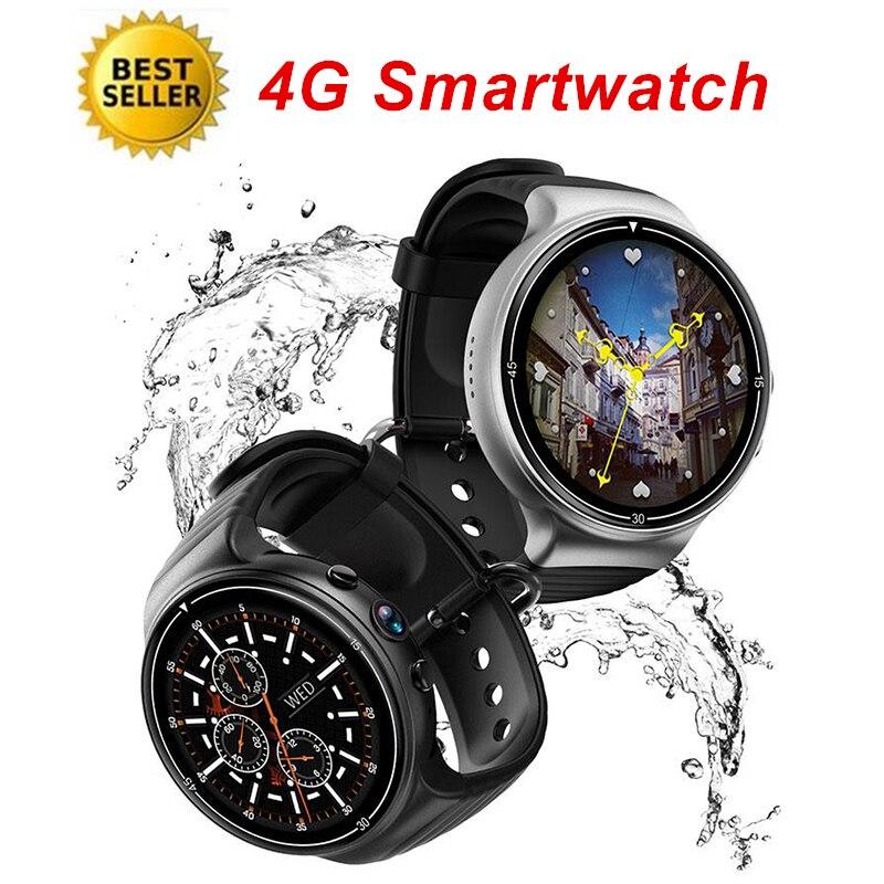 4G Smartwatch Hommes Podomètre Moniteur de Fréquence Cardiaque Fitness Tracker Smart GPS Caméra Étanche Reloj Inteligente Sport Montre Smart Watch