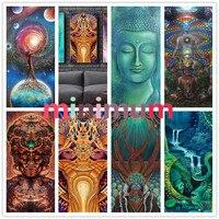 Religion Virgin DIY 5D Diamond Painting Abstract Art Buddha Cross Stitch Kits