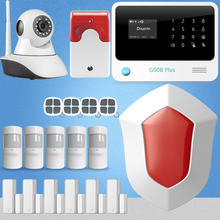 Etiger G90B Plus The Most Popular Wireless GSM Alarm System With WIFI Wireless Video Monitoring Remote Control