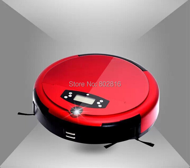Free Shipping Newest Voice Function and Wet or Dry Mopping Intelligent Vacuum Cleaner