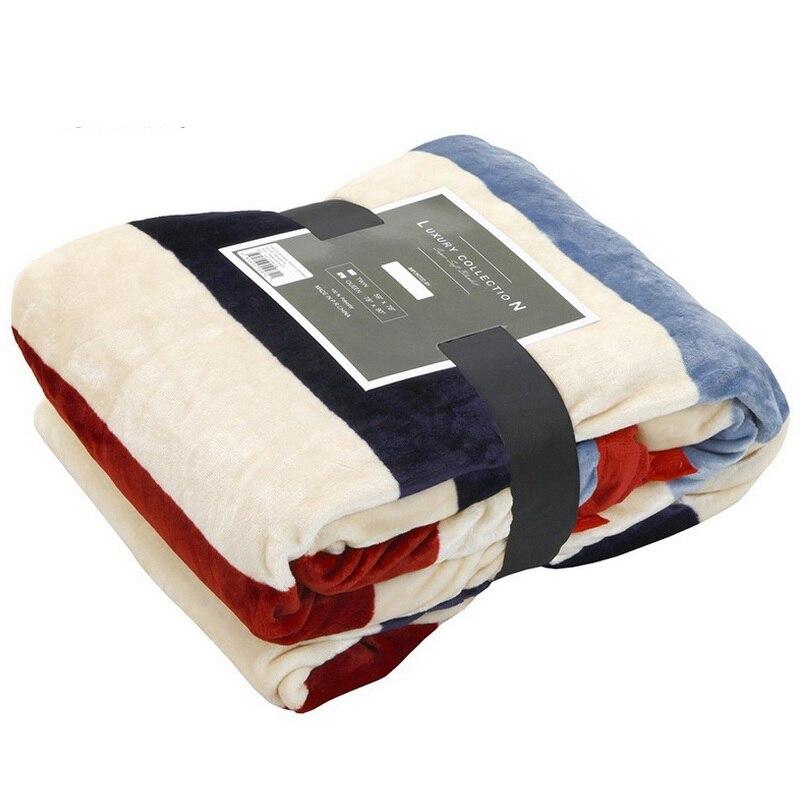Baby Sleeper Flannel Blanket Child Adult Raschel Blanket Plaid Stripe Leaf Star Print Nap Receiving Blanket Sheet Bed Sofa Throw