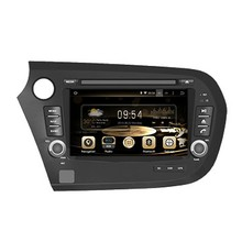 ROM 16G 1024*600 4Core Android 5.1 Fit HONDA Insight 2010 2011 2012 2013- 2015 Car DVD Player head unit stereo GPS TV 3G Radio
