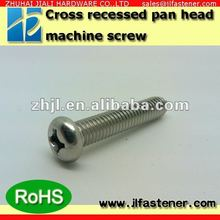M1.4*3/4/5/6/8/10 Stainless Steel Phillips Pan Head Machine Screw / small screw
