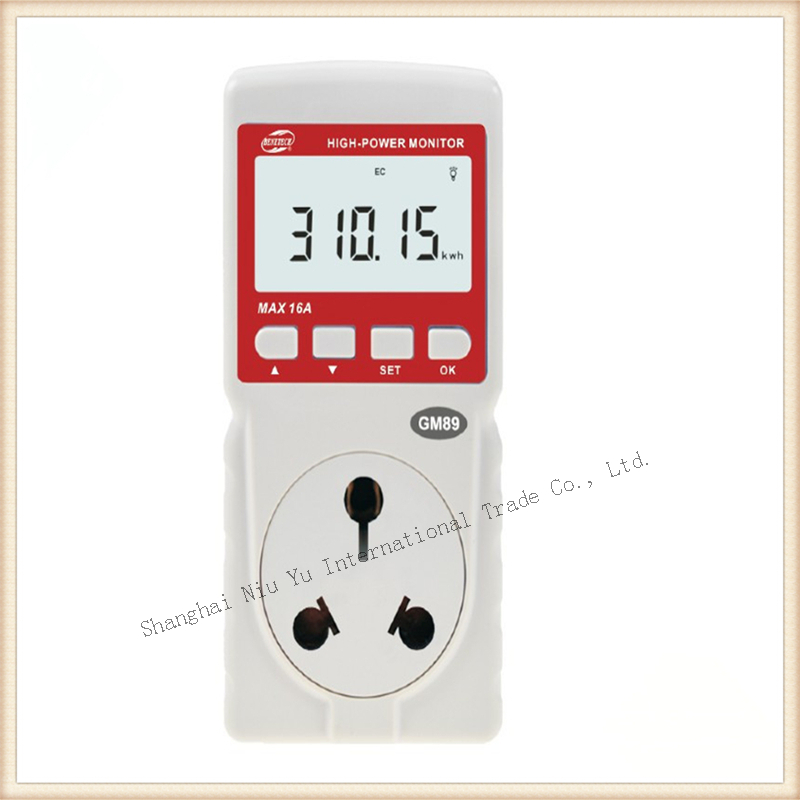 3.5 KW 16A Power meter High Power monitor Timing Power analyzer ...