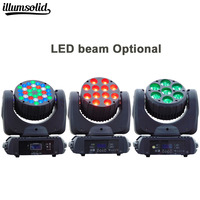 LED Moving Head Light With wash beam RGBW Dj Equipment DMX for Stage Lighting Professionals