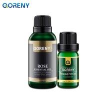Rose Essential Oil 30ML Peppermint Essential Oil 10ML