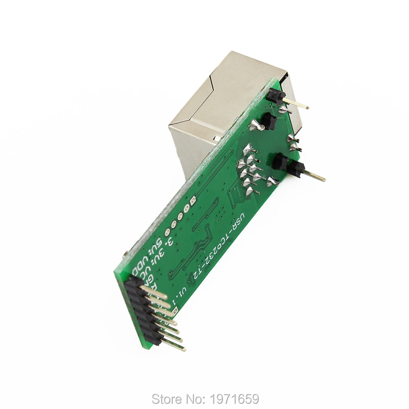 TCP Server Serial Port to Ethernet Converter Module The device of data  transmission between TTL and RJ45 interface for home hightek hk 8116b industrial 16 ports rs485 422 to ethernet converter ethernet to serial device server