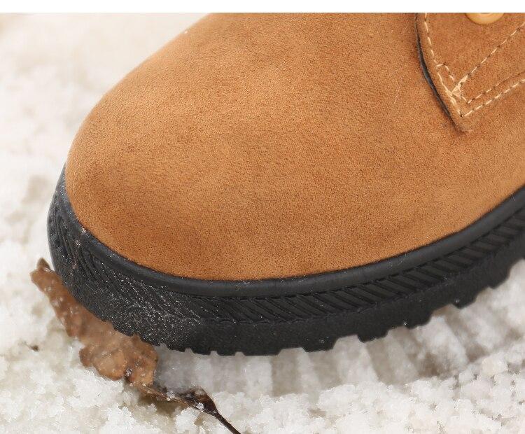 Women's High Heels Plush Winter Boots 21