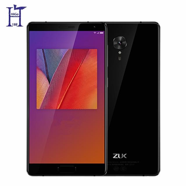 "Original Lenovo ZUK Edge 4GB RAM 64GB ROM Snapdragon 821 2.35GHZ 4G LTE 5.5"" 1080P 13MP Android Mobile Phone Fingerprint ID"