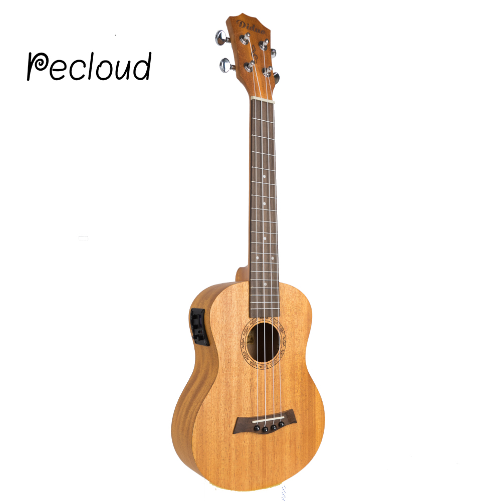 Acoustic Electric Soprano Concert Tenor Ukulele 21 23 26 Inch Mini Guitar Mahogany 4 Strings Ukelele Guitarra Uke Mahogany soprano concert tenor ukulele 21 23 26 inch hawaiian mini guitar 4 strings ukelele guitarra handcraft wood mahogany musical uke