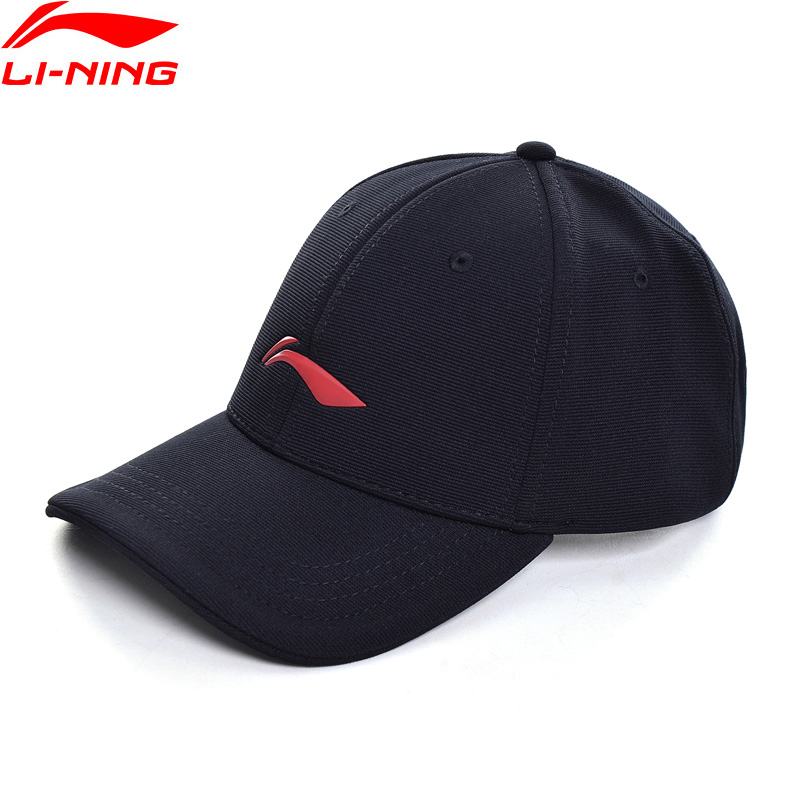 Li-Ning Unisex Sports Baseball Caps 56-60 Cm 100% Polyester Breathable LiNing Sport Hats AMYP202 EJAS19