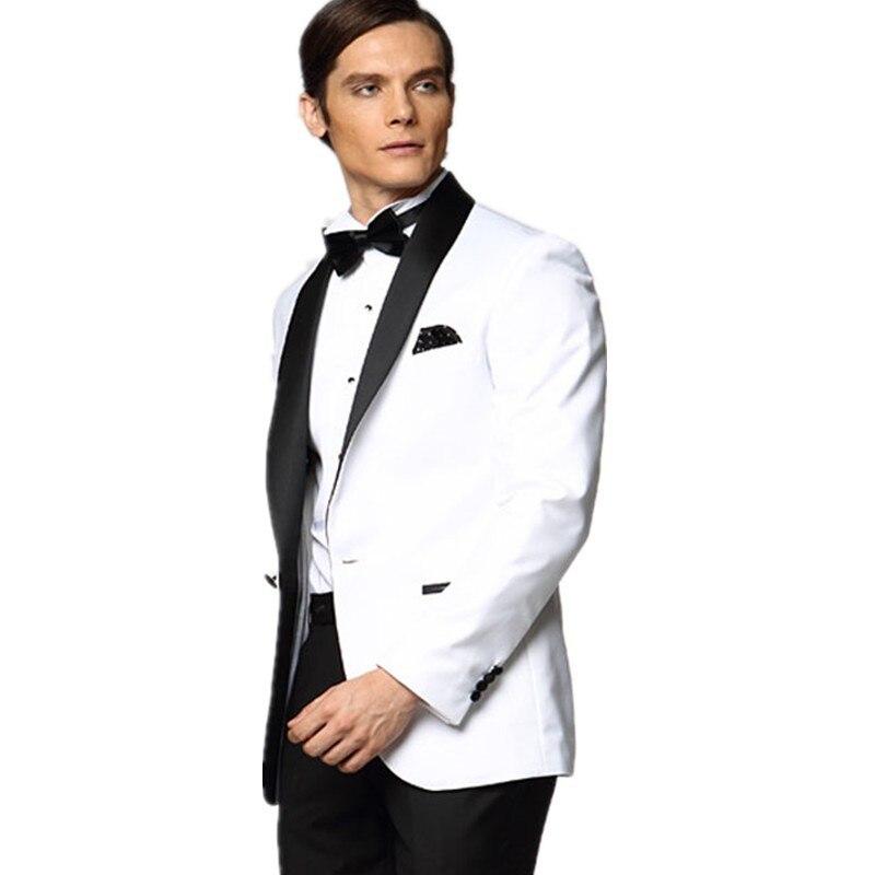 Prom White Suit