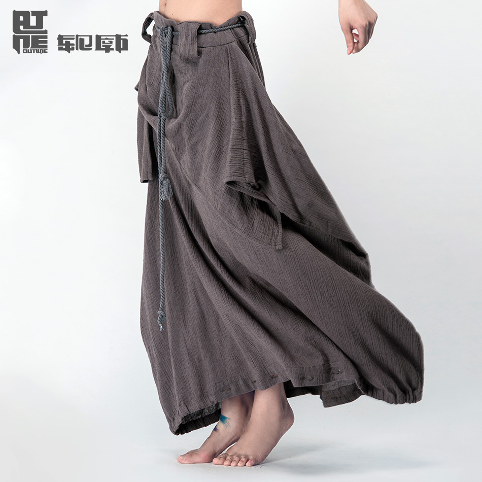Wide Leg Linen Pants Pattern