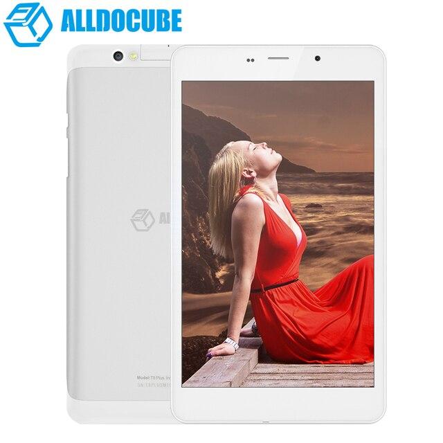 8 дюймов куб t8 плюс конечной полной HD 1920 * 1200 4 г телефон планшет MTK8783 окта ядро Android 5.1 2 ГБ оперативной памяти 16 ГБ Rom GPS OTG