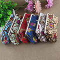 ROCOHANTI Hot Sale Creative Owl Canvas Coin Purse Key Wallet Cloth Art Womens Long Wallet Hand Bag Purse