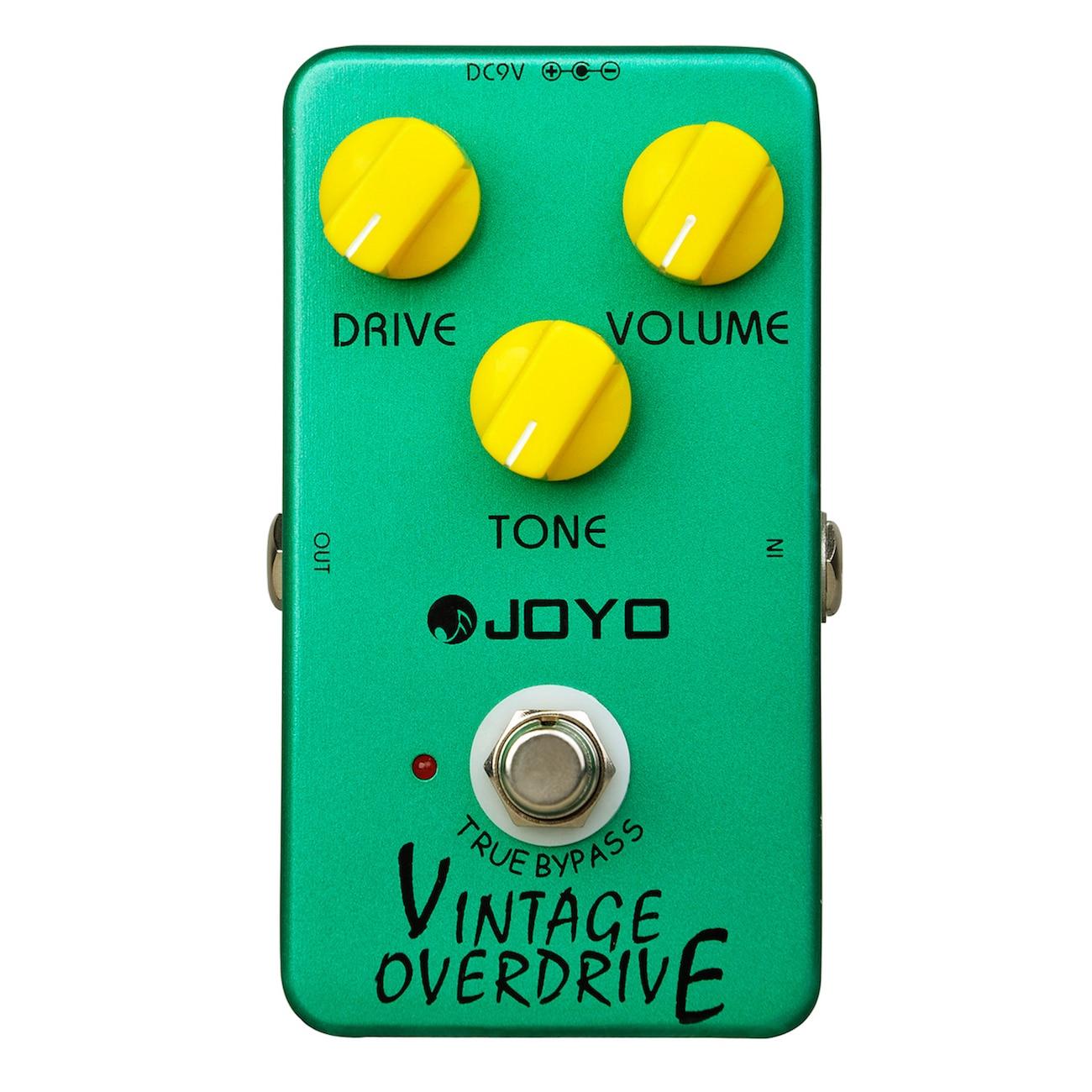 Joyo Vintage Overdrive Electric Guitar Effect Pedal True Bypass JF-01 JF01 joyo jf 39 deluxe crunch overdrive guitar pedal effect true bypass red