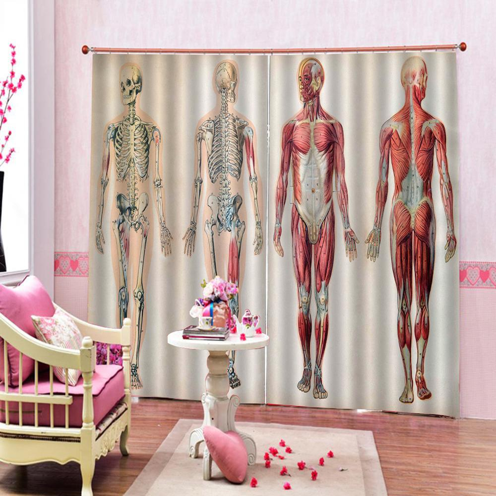 Luxury Blackout 3D Window Curtains For Living Room Bedroom hospital curtains Blackout curtain in Curtains from Home Garden