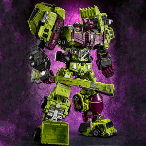 Image 2 - Jinbao GT Devastator Transformation G1 Oversize 6 IN1 Bonecrusher Scrapper Haul Mixmaster Hook KO Action Figure Robot Toys Gifts