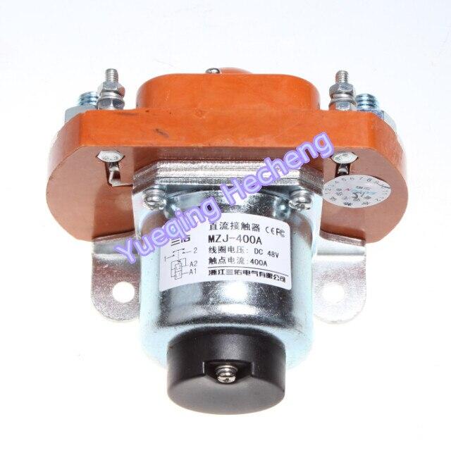 New Heavy Duty Original Cart 48V 400A Contactor Solenoid new lp2k series contactor lp2k06015 lp2k06015md lp2 k06015md 220v dc