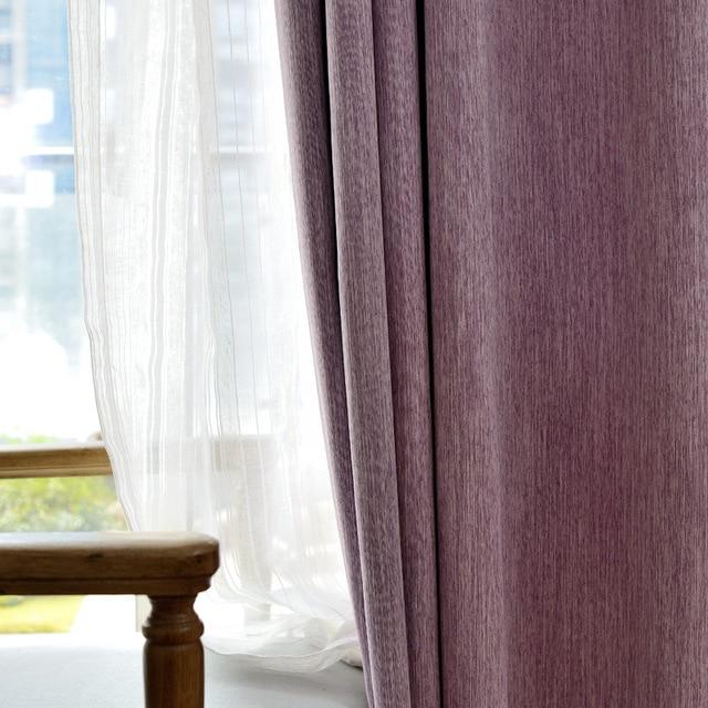 8 kleur afwerking product linnen thicken 1000g thermische gesoleerde geluidsisolatie verduisteringsgordijnen moderne woonkamer gordijnen