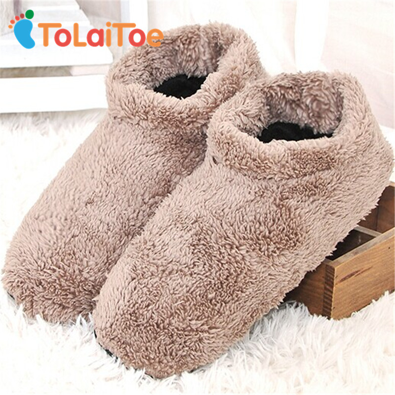 ToLaiToe 1Pair 2017 New Men's Indoor Soft-Soled Slippers Soft and Warm Non-Slip Floor Indoor Slippers Wooden Floor House Shoes woolen monster house shoes slippers color assorted pair