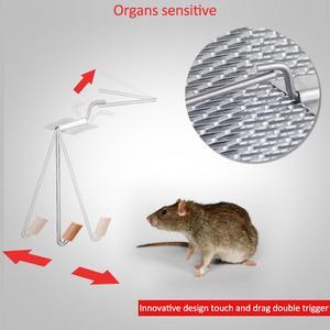 Image 5 - Inteligentne drzwi humanitarny na żywo pułapka na mysz zwierząt mysz klatka szczur mysz myszy pułapki domowe małe gryzonie zwierzęta do wewnątrz na zewnątrz