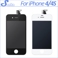 10pcs Lot For IPhone 4 4S Mobile Phone LCD Replacement Display With Touch Screen Digitizer Assembly