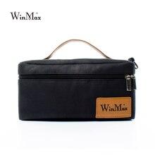 Winmax небольшой пикник мешок черный для женщин охладителя бизнес luncn коробка пищевые тепловой мешок blosa temica студентов бизнес-школ,