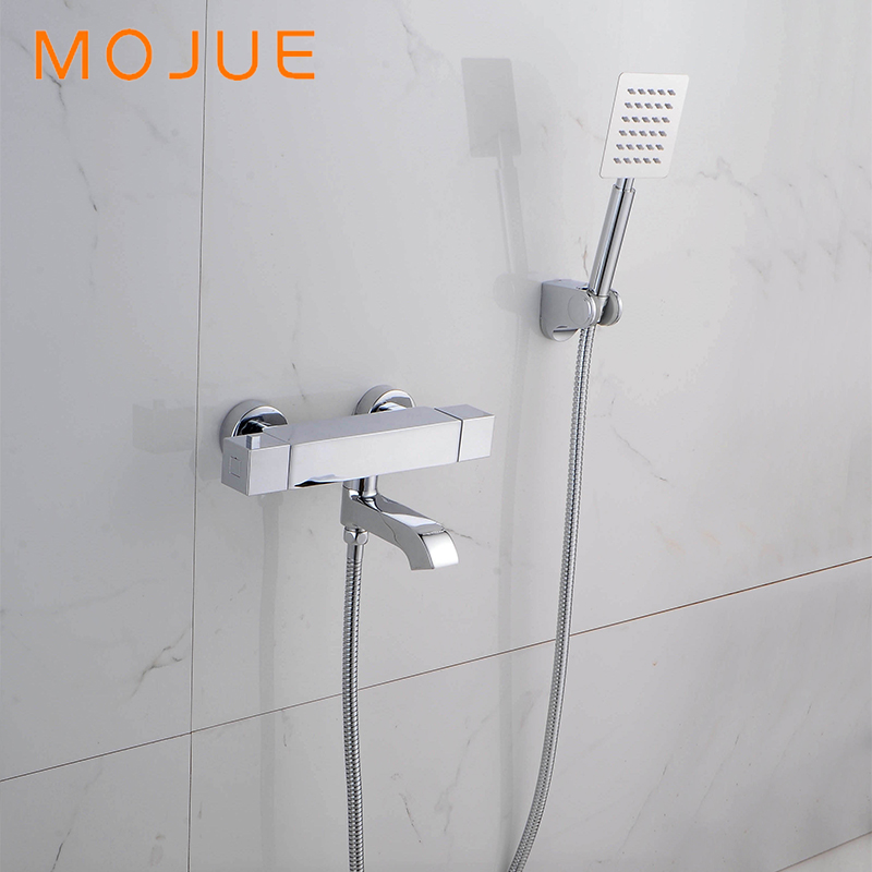 MOJUE thermostatic shower set easy to install shower for bathroom ...