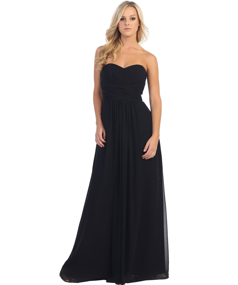 Popular Black Long Formal Dresses under 100-Buy Cheap Black Long ...