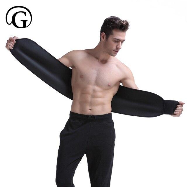PRAYGER Neoprene Sauna Slimming Waist Cinchers Control Belly Abdomen Shaper Belt Power Body Tummy Trimmer Girdle