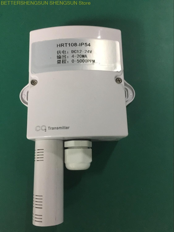 Transmetteur de CO2-HRT108 mural pour serres agricoles, usines de plantes, environnements de champignons comestibles