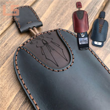 Топ дизайн кожаный ручной работы принцесса девушка автомобиль брелок чехол для ключей для Opel ASTRA Astra Corsa Antara Meriva MOKKA