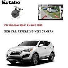 Car wireless rear camera For Hyundai Santa Fe 2013~2018 car Night Vision HD camera CCD night vision waterproof high qualit