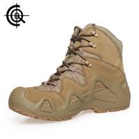 CQB Mountain Power Outdoor Climbing Shoes Men Wear Resisting Non Slip Trekking Hiking Shoes Large Size